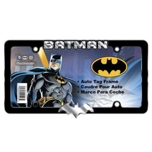 Batman Metal License Plate Frame