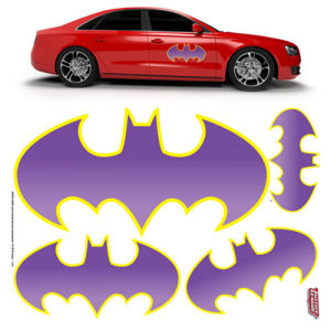 DC Comics Batgirl Car Graphics Set