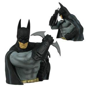 Batman Arkham Asylum Batman Bust Bank - Previews Exclusive