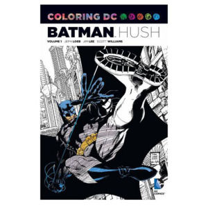 Batman Hush Coloring Book