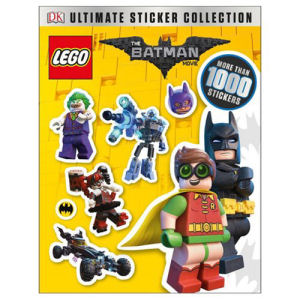 The LEGO Batman Movie Ultimate Sticker Collection Paperback Book