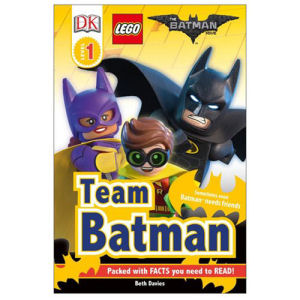 The LEGO Batman Movie Team Batman DK Readers 1 Hardcover Book