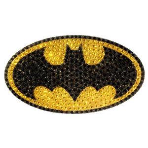 Batman Logo Crystal Studded Large Decal