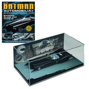 Batman Black & White #3 Die-Cast Metal Vehicle with Collector Magazine