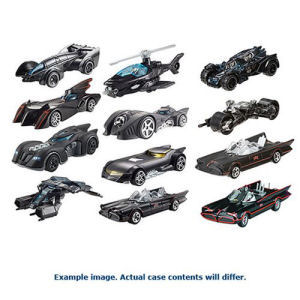Hot Wheels Batman 1/50th Scale Premium Wave 2 Rev. 1 Case