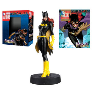 DC Superhero Batgirl Best Of Figure with Collector Magazine #12