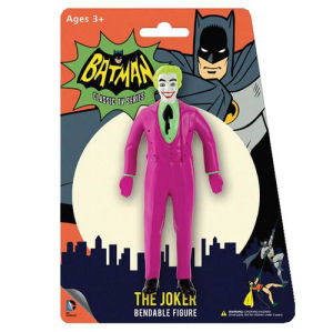 Batman Classic TV Series The Joker 5 1/2 Inch Bendable Figure