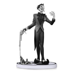 Batman Black and White Statue Joker by Jim Lee 2nd Edition Statue