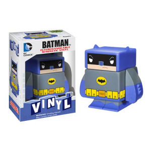 Batman Blue Interchangeable Magnetic Vinyl Cubed Figure