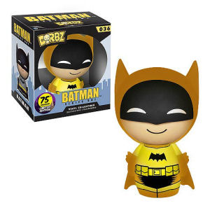 Batman 75th Anniversary Yellow Rainbow Batman Dorbz Vinyl Figure