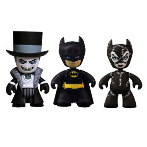 Batman Returns Mini Mez-Itz 2 Inch Mini-Figure 3 Pack
