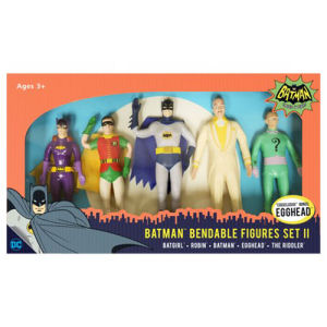 Batman Classic TV Series 5.5 Inch Bendable Figure Box Set Wave 2