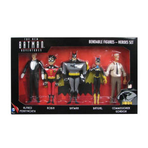 Batman The New Batman Adventures Heroes 5 1/2-Inch Bendable Figure Box Set