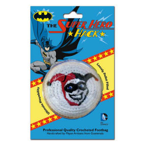 Batman Harley Quinn Embroidered Crocheted Footbag