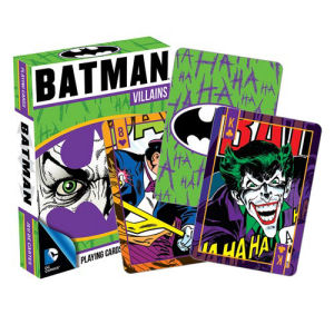Batman Villians Playing Cards