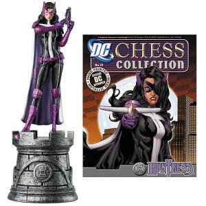 Batman Huntress White Rook Chess Piece with Magazine