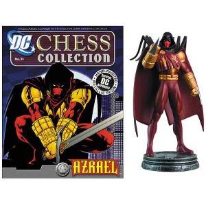 Batman Azrael White Pawn Chess Piece with Magazine