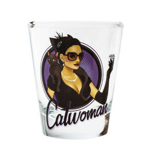 DC Bombshells Catwoman Shot Glass