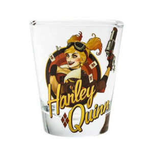 DC Bombshells Harley Quinn Shot Glass
