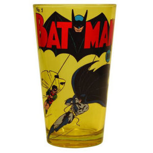 Batman Number One Comic Cover 16 Ounce Pint Glass