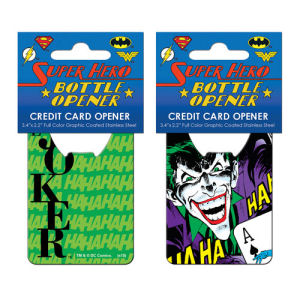 Batman Joker Ha Ha Credit Card Bottle Opener