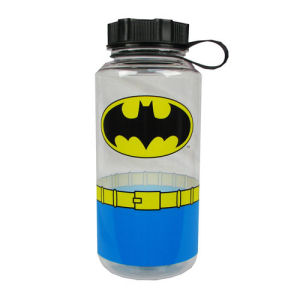 Batman Uniform 1 Liter Plastic Water Bottle