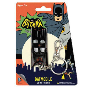 Batman Classic TV Series Batmobile 3 Inch Figural Key Chain
