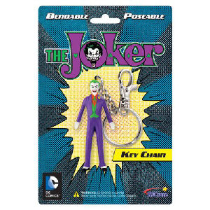 DC Comics The Joker Bendable Figure Key Chain