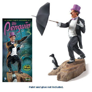 Batman 1966 TV Series Penguin 1/8th Scale Model Kit