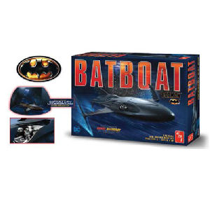 Batman Returns Batboat 1/25th Scale Plastic Model Kit