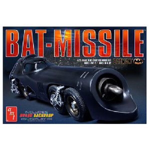 Batman 1989 Bat-Missile Model Kit