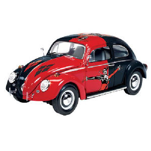Batman Harley Quinn Volkswagen Beetle 1/24th Scale Snap-Fit Model Kit
