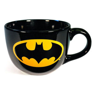 Batman Shield Logo 24 Ounce Soup Mug