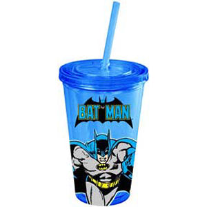 Batman Action Plastic Travel Cup