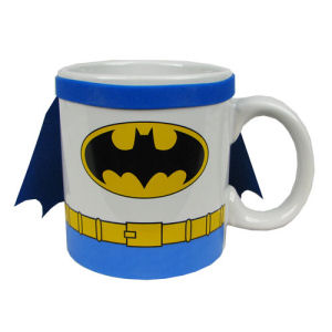 Batman Uniform with Cape 20 Ounce Jumbo Ceramic Mug