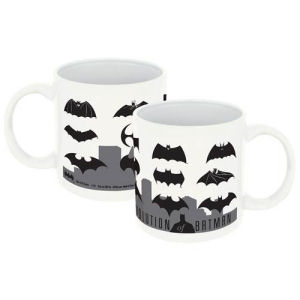 Batman Logo Evolution 20 Ounce Ceramic Mug
