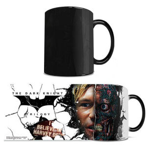 Batman Dark Knight Trilogy Two-Face Morphing Mug