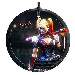 Arkham Knight Harley Quinn StarFire Prints Hanging Glass Ornament
