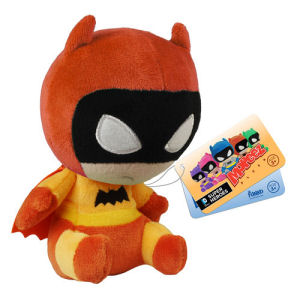 Batman 75th Anniversary Orange Rainbow Batman Mopeez Plush