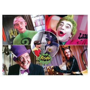 Batman Classic 1966 TV Series The Rogues MightyPrint Wall Art Print