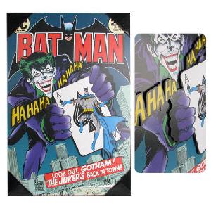 Batman Jokers Back #251 Comic Cover 3D Wood Wall Art