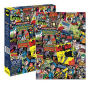 Batman DC Comics Collage 1000 Piece Puzzle.