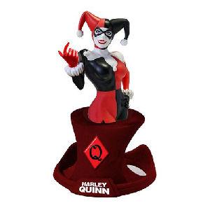 Batman Harley Quinn Bust DC Comics Resin Paperweight
