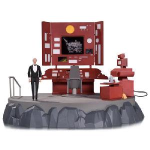 Batman The Animated Series Batcave with Alfred Playset
