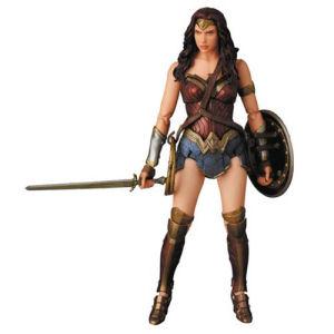 Batman v Superman Dawn of Justice Wonder Woman MAFEX Action Figure - Previews Exclusive