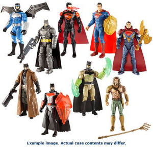 Batman v Superman 6 Inch Wave 7 Basic Action Figure Case