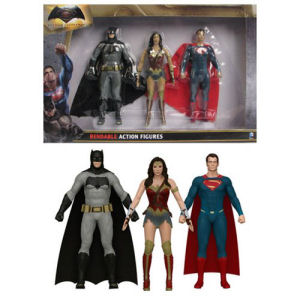 Batman v Superman Dawn of Justice Bendable Action Figure Set