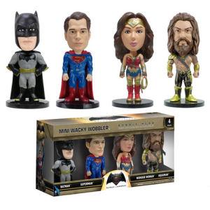 Batman v Superman Dawn of Justice Mini Bobble Heads 4 Pack