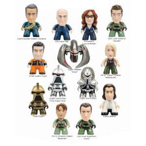 Battlestar Galactica Titans Series 1 Vinyl Mini-Figure Master Carton