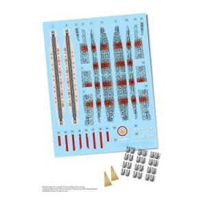 Battlestar Galactica Model Kit Upgrade Set